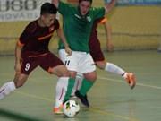 越南男子五人制足球队5比4惊险战胜Lugo俱乐部
