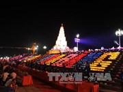 2015年秋季崑山劫泊庙会:祈安法会和放花灯活动让人印象深刻