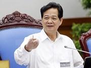 阮晋勇总理:及时做出政策反应力争完成各项经济社会目标