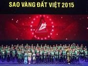 2015年越南金星奖颁奖仪式在河内举行