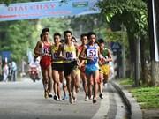 2015年第42次《新河内报》长跑公开赛吸引1330余名运动员参加