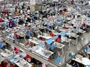 2015年前九个月越南工业生产保持稳定增长态势