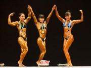 2015年亚洲健美锦标赛:越南代表对夺得5枚金牌