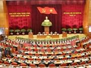 越共十一届十二中全会第一天新闻公报