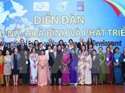 """""""妇女和平与发展""""国际论坛在越南河内开幕"""