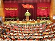 越共十一届十二中全会进入第二天发表新闻公报