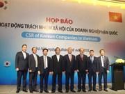 韩国企业在越南开展众多社会公益活动