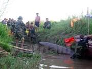 清化省渔民发现一颗400公斤重的炸弹