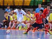 2015年东南亚五人制足球锦标赛:越南队以13比1狂屠老挝队