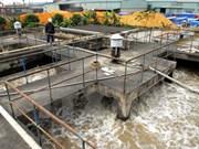 越南安江省动工兴建龙川市污水处理系统