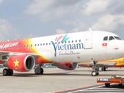 越捷航空公司出售近50万张飞往韩国和台湾的特价机票
