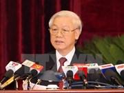 越共十一届中央委员会第十二次会议落下帷幕