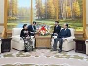 越南共产党代表团对朝鲜进行访问