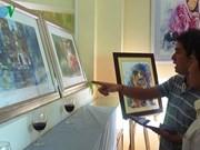 水彩画展在胡志明市举行