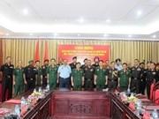 印度陆军战争学院代表团对越南进行工作访问