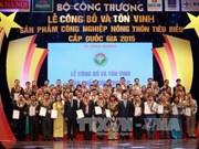 越南100个典型农村工业产品获表彰