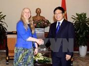 越南与新西兰加强多方面合作