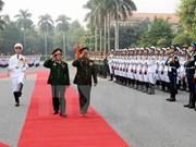 越老两国军队加强合作