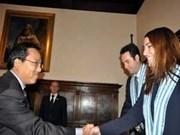 越南与圣马力诺促进外交关系