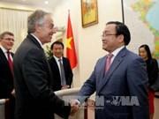黄忠海副总理会见英国前首相布莱尔