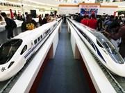 中国与印尼签署总额为55亿美元的高铁协议
