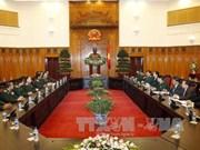 越南政府总理阮晋勇会见老挝人民军总参谋长苏旺