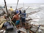 """菲律宾多省遭超强台风""""巨爵""""侵袭致16人死亡"""