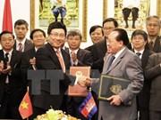 越柬两国政府间混合委员会第14次会议在胡志明市召开