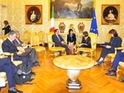 越南共产党代表团对希腊和意大利进行工作访问