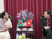 越南为孟加拉国政府高级公务员进行公共行政培训