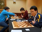 2015年SPICE杯国际象棋锦标赛:黎光廉积6.5分跃居积分榜首