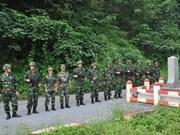 越南老街省和中国云南省边防力量进行2015年第五次联合巡逻