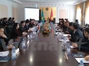 越哈政府间经贸与科技合作联合委员会第七次会议在哈萨克斯坦召开