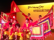 越南留学生在新西兰推广民族文化