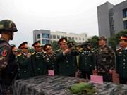 越南第二军区同中国成都军区加强合作