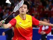阮进明在2015年巴林羽毛球国际挑战赛中被视为头号种子