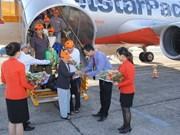 捷星太平洋航空公司开通朱莱至邦美蜀新航线