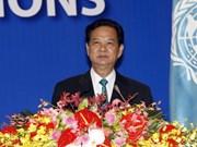 阮晋勇总理:越南愿积极参加联合国各项活动