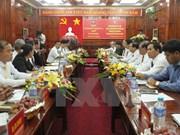 柬埔寨桔井省与越南平福省加强合作