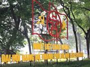首都人民对越共河内市第十六次代表大会充满期待