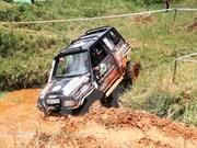 2015越南国际雨林汽车挑战赛在平阳省举行