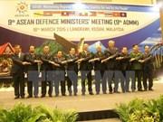 东盟防长会议致力促进地区互信