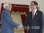 印度与印尼签署多项双边合作协议