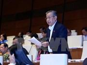 越南第十三届国会第十次会议讨论2015年经济社会发展情况