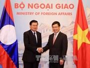越老两国政府副总理兼外长共同主持召开第二次外长级磋商
