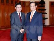 越南政府总理阮晋勇会见老挝政府副总理兼外交部长通伦•西苏里