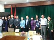 越南职员工会和日本职员工会加强合作