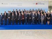 第12届亚欧外交部长会议在卢森堡开幕