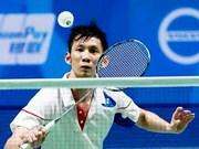 巴林羽毛球国际挑战赛:阮进明晋级1/4决赛