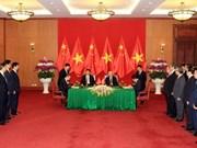 越南与中国签署多项合作协议